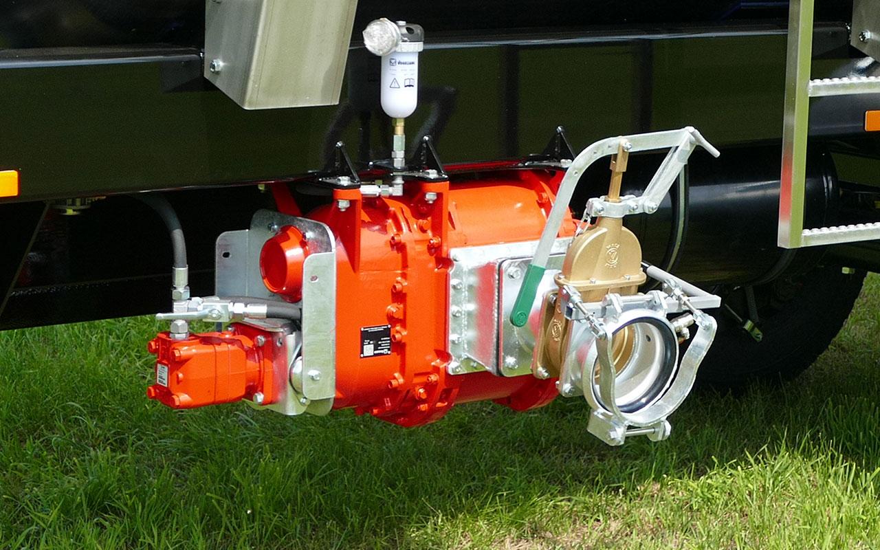 Hydraulische Pumpe 3